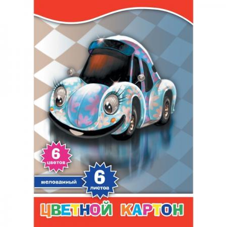 Набор цветного картона Action! 4680291048798 A4 6 листов набор цветного картона action 4680291047692 a4 6 листов