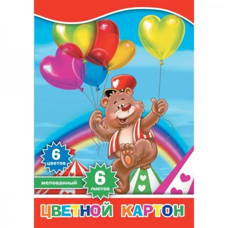 Набор цветного картона Action! 4680291047692 A4 6 листов набор цветного картона action strawberry shortcake a4 10 листов sw cc 10 10 в ассортименте