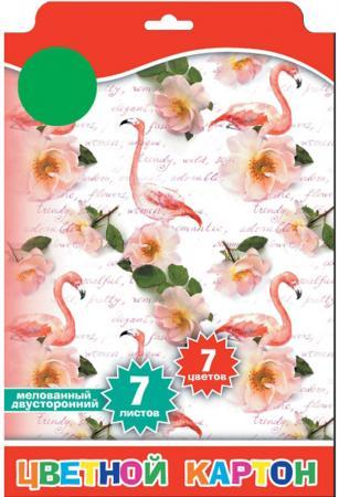 Набор цветного картона Action! ACW-7/7W/1 A4 7 листов набор цветного картона action strawberry shortcake a4 10 листов sw cc 10 10 в ассортименте