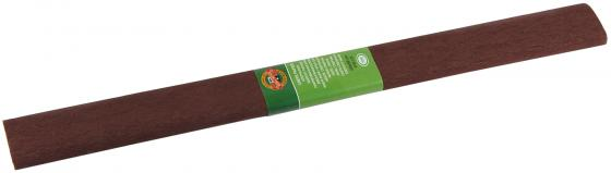 Креп-бумага Koh-I-Noor, темно-коричневый, 2000х500 мм цена