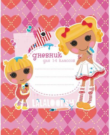 Дневник для младших классов Action! Lalaloopsy линейка LL-DU-1 дневник для младших классов action алиса линейка az du 1 az du 1