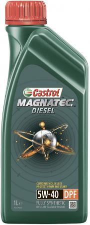 Cинтетическое моторное масло Castrol Magnatec 5W40 1 л CAS-MAGN-5W40DPF-1L