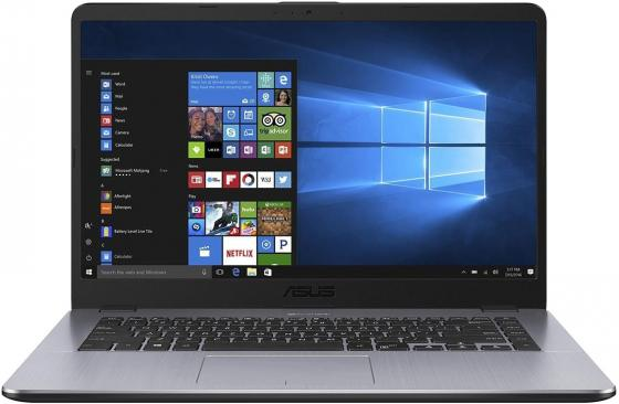 Ноутбук ASUS VivoBook 15 X505BA 15.6 1366x768 AMD A9-9420 1 Tb 4Gb Radeon R5 серый Windows 10 Home 90NB0G12-M00730 quying laptop lcd screen for asus x553m x553ma 15 6 inch 1366x768 40pin tn top and bottom brackets