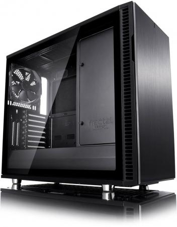 цена Корпус ATX Fractal Define R6 Blackout Edition TG Без БП чёрный FD-CA-DEF-R6-BKO-TG