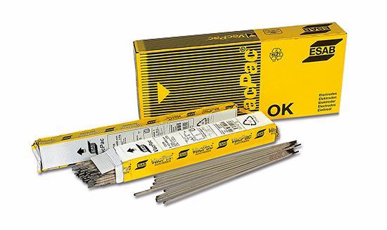 Электроды для сварки ESAB ОК 61.30 ф 2,5мм AC/DC переменный/постоянный 0,7кг для нержавеющих сталей