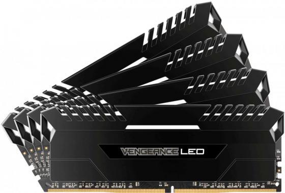 Оперативная память 64Gb (4x16Gb) PC4-24000 2666MHz DDR4 DIMM Corsair CMK64GX4M4A2666C16W оперативная память 64gb 4x16gb pc4 24000 2666mhz ddr4 dimm corsair cmk64gx4m4a2666c16