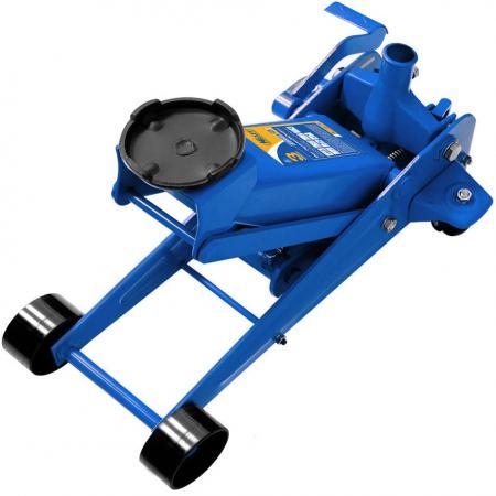 Домкрат KRAFT KT 820004 подкатной гидравлический 3т с педалью съёмник шаровых опор шарнирных соединений с рычагом kraft cr v kt 701025