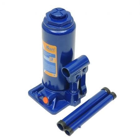 Домкрат KRAFT КТ 800017 бутылочный 8т регулируемая скамья kraft fitness kffiuby