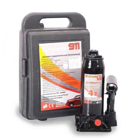 Домкрат SCHWARTZ 911 4т кейс бутылочный пластиковый кейс marian d schwartz sara barefield