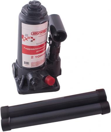 Домкрат SKYWAY 88420 гидравлический бутылочный 2т 148-278мм с клапаном в коробке+сумка skyway замша с прострочкой eco