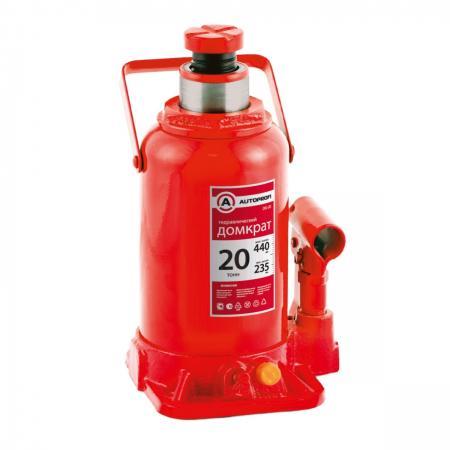 Домкрат AUTOPROFI DG-20 гидравлический бутылочный 20т подъём440мм домкрат autoprofi dg 20