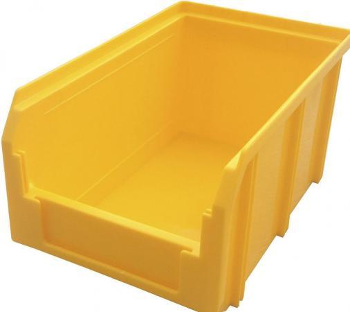 Ящик СТЕЛЛА V-2 3,8 литр, желтый пластик 234х149х121мм ящик раскладной универсальный 38 5х25 5х21см пластик