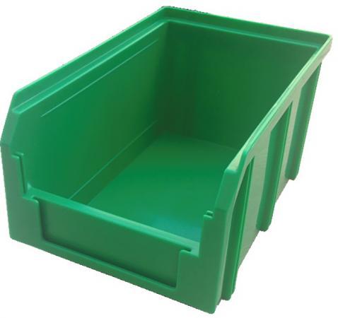 цена на Ящик СТЕЛЛА V-2 3,8 литр, зеленый пластик 234х149х121мм