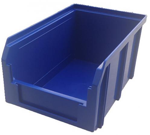 Ящик СТЕЛЛА V-2 3,8 литр, синий пластик 234х149х121мм ящик раскладной универсальный 38 5х25 5х21см пластик
