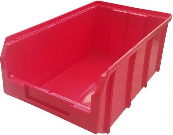 цена на Ящик СТЕЛЛА V-3 9,4 литр, красный пластик 341х207х143мм