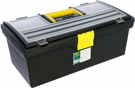 Ящик для инструмента FIT 65501 пластиковый 16 (40,5x21,5x16см) ящик для инструмента fit 65572 пластиковый 16 41 х 22 х 19 5 см