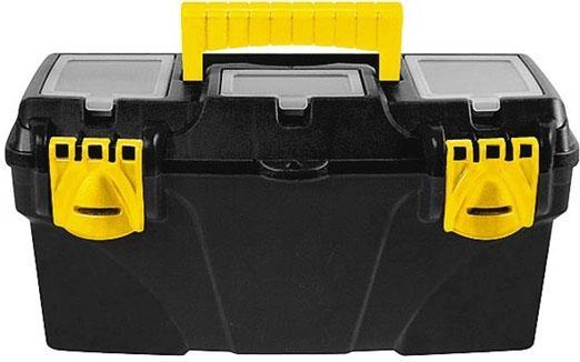 Ящик для инструмента FIT 65564 пластиковый 21 (53 х 27,5 х 29 см) ящик для крепежа fit 40 х 30 х 6 см