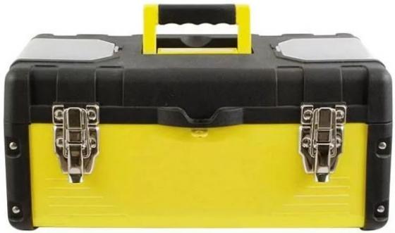 Ящик для инструмента FIT 65592 18 (45 х 24 х 20 см), металл.замки, стенки стальные ящик для инструмента fit 65572 пластиковый 16 41 х 22 х 19 5 см