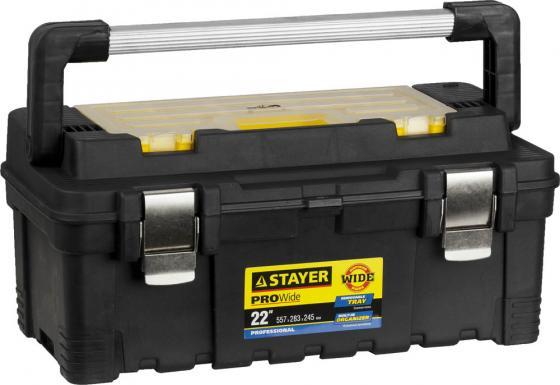 Ящик STAYER 38003-22 пластиковый для инструмента 557x283x245мм 22
