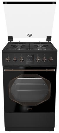 Комбинированная плита Gorenje K53INB черный цена и фото