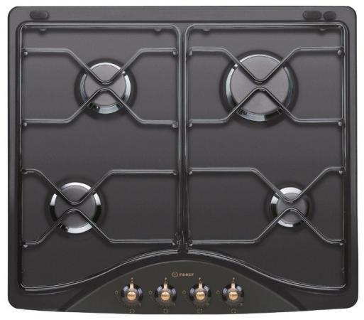 все цены на Варочная панель газовая Indesit PN 642 /I (AN) черный онлайн