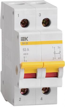 Выключатель нагрузки ИЭК ВН 2п 40А ВН-32 MNV10-2-040
