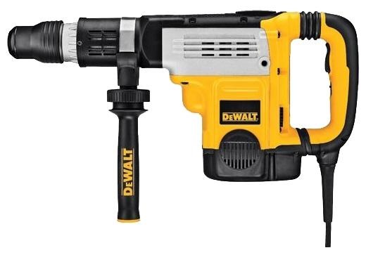 Перфоратор DEWALT D 25761 K SDSmax 1500Вт 2реж 15.5 по ЕРТА Дж 1150-2300уд/мин 9.9кг перфоратор dewalt d 25133 k
