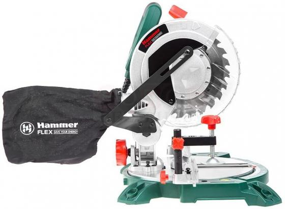 Торцовочная пила Hammer Flex STL1400/210 1400 30 мм торцовочная пила энкор корвет 8 31