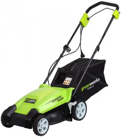 колесная газонокосилка / триммер Greenworks GLM1035 цены
