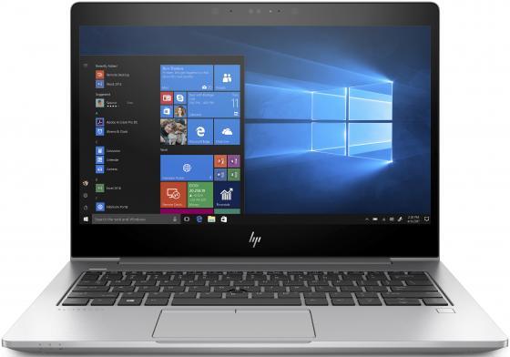 Ноутбук HP EliteBook 830 G5 13.3 1920x1080 Intel Core i7-8550U 256 Gb 8Gb Intel UHD Graphics 620 серебристый Windows 10 Professional 3JW90EA