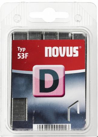 Скобы для степлера Novus 8 мм 1200 шт