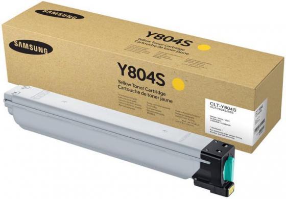 Фото - Картридж Samsung SS722A CLT-Y804S для SL-X3280NR желтый тонер картридж clt y804s