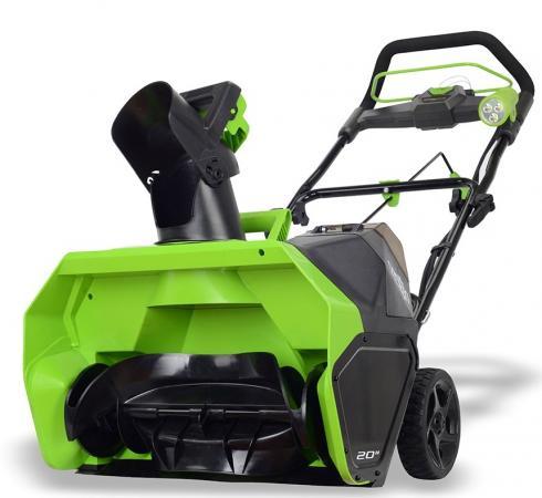 цена на Аккумуляторный снегоуборщик Greenworks 40V G-max GD40SB без аккумулятора и зарядного устройства