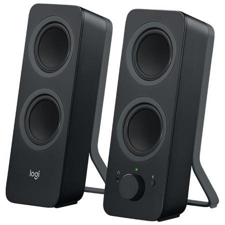 Колонки Logitech Z207 2x2.5 Вт черный 980-001295 цена и фото