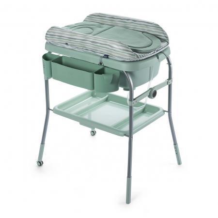 Стол пеленальный с ванночкой Chicco Cuddle & Bubble Comfort (eucalyptus) стол пеленальный с ванночкой cam volare цвет 227