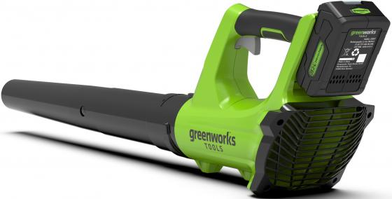 Аккумуляторная воздуходувка Greenworks 24V G24AB без аккумулятора и зарядного устройства садовая аккумуляторная воздуходувка greenworks g24ab 2402207