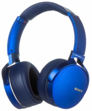 Наушники SONY MDR-XB950B1 синий цена и фото