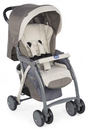 Прогулочная коляска Chicco Simplicity Plus Top (moka) plus flounce sleeve self belted gingham top