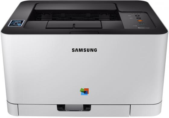 Принтер HP Samsung Xpress SL-C430W SS230M цветной A4 18ppm 2400x600dpi 64Mb Ethernet USB Wi-Fi принтер samsung sl c430w