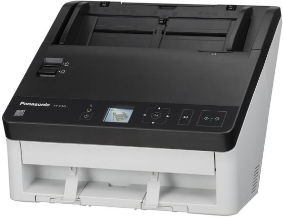 Сканер Panasonic KV-S1028Y-U сканер panasonic kv s1037 kv s1037 x a4 белый черный