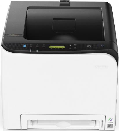 Принтер Ricoh SP C261DNw цветной A4 20ppm 2400x600dpi RJ-45 Wi-Fi USB 408236