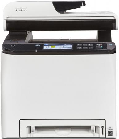 МФУ Ricoh SP C261SFNw цветное A4 2400x600 dpi 20ppm Wi-Fi Ethernet USB 408237 мфу ricoh sp 213sfnw ч б а4 22ppm с автоподатчиком с lan и wi fi