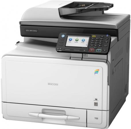 МФУ Ricoh Aficio MP C305SPF цветное A4 1200x1200 dpi 30ppm Ethernet USB 416012 цена
