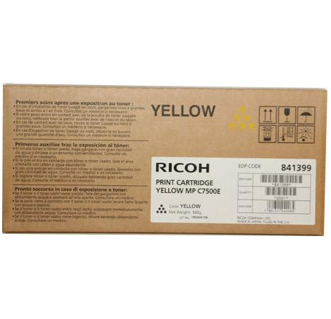 Картридж Ricoh MP C7500E для Ricoh Aficio MP C6000/C7500 желтый 21600стр 841399 842070 tprhm mp4000 premium laser copier toner powder for ricoh aficio mp5002sp for gestetner dsm735e dsm745e 1kg bag free fedex