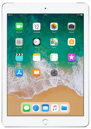Планшет Apple iPad 9.7 128Gb Silver Wi-Fi Bluetooth iOS MR7K2RU/A планшет apple ipad 9 7 128gb space gray wi fi bluetooth ios mr7j2ru a