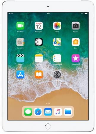 Планшет Apple iPad 9.7 128Gb Silver 3G Wi-Fi Bluetooth LTE iOS MR732RU/A планшет apple ipad pro mtxt2ru a a12x bionic 4gb 512gb 11 ips retina qsxga wi fi bt 7 12mpx ios space grey
