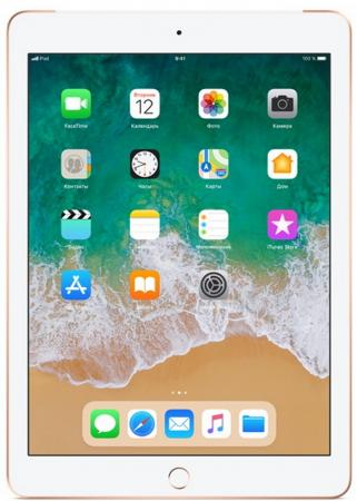 Планшет Apple iPad 9.7 128Gb Gold 3G Wi-Fi Bluetooth LTE iOS MRM22RU/A паркетная доска barlinek pure дуб almond grande 2200x180x14 мм