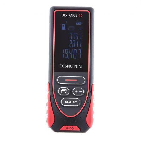 Дальномер ADA Cosmo Mini 40 Лазерный 40м Точность ±2мм 635нм лазерный дальномер ada cosmo mini [а00410]