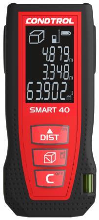 Дальномер CONDTROL SMART 40 лазерный ± 1.5мм 2хААА дальномер лазерный condtrol x1 lite 30м