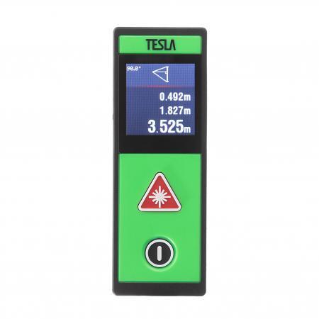 Дальномер лазерный TESLA M-40 Touch, дальность 40 метров, точность ±2,0мм все цены